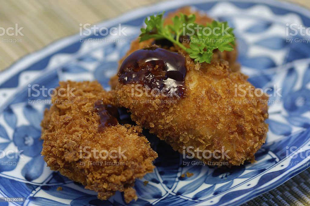 Japanese Pork Cutlet stock photo