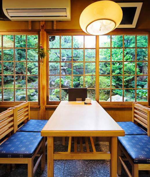 Shoji Japanese Slide Open Door Window Or Room Divider Pictures Images And Stock Photos