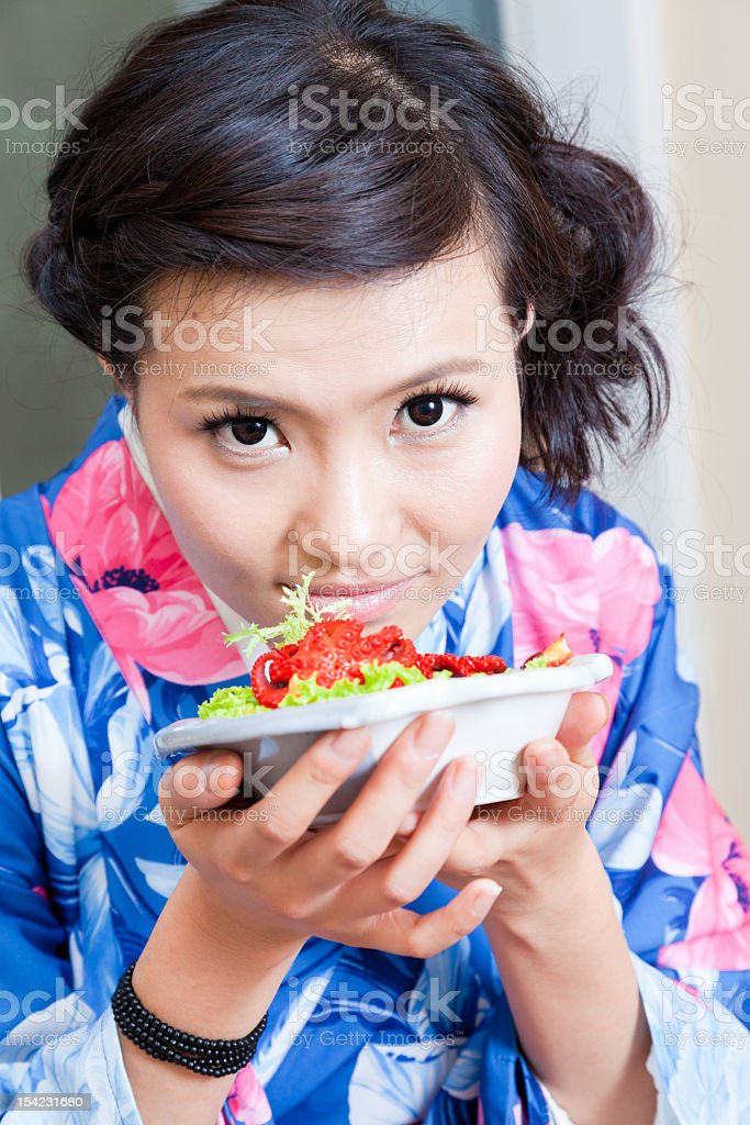 Japanese restaurant royalty-free stock photo