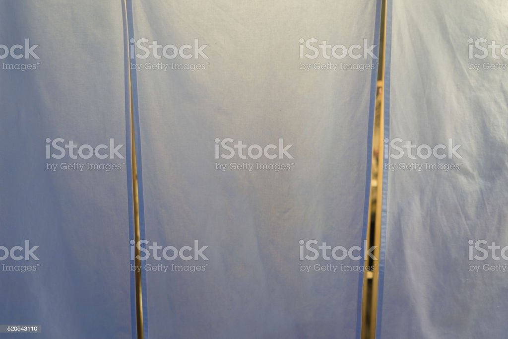 Japanese resturant curtain stock photo
