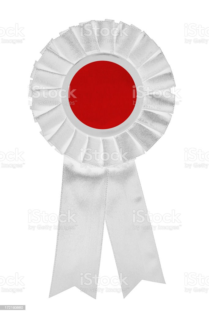 Japanese ribbon stock photo