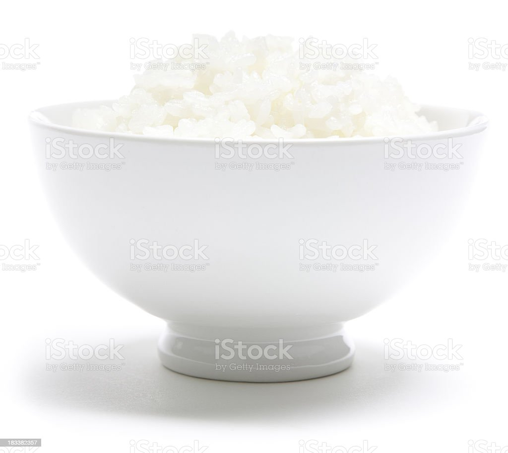 Japanese rice bowl royalty-free stock photo