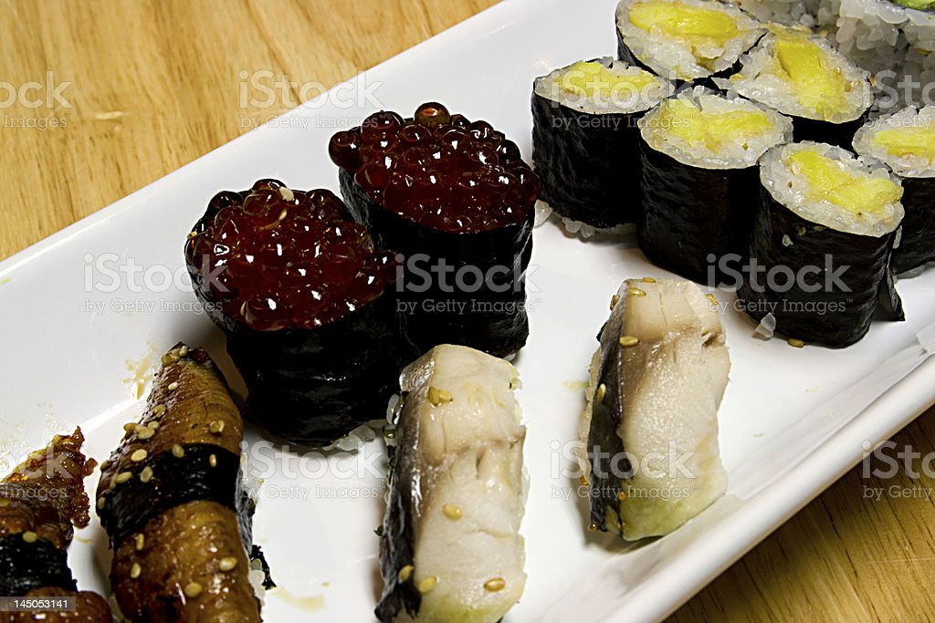 Japanese Rice Dinner royalty-free stock photo