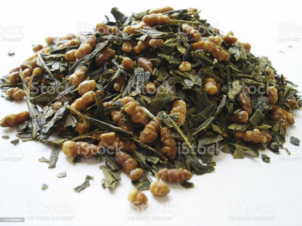 Japanese Rice Green Tea royalty-free stock photo