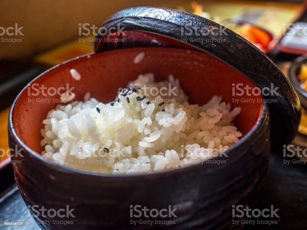 Japanese Rice stock photo