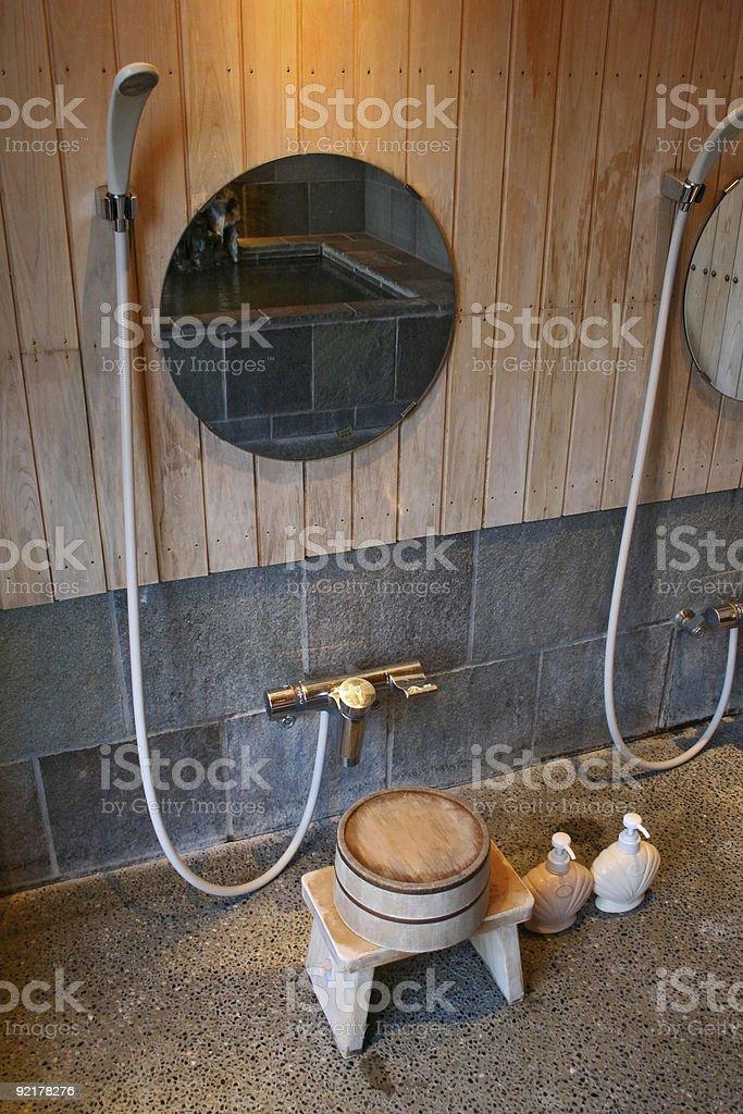 Japanese Shower royalty-free stock photo