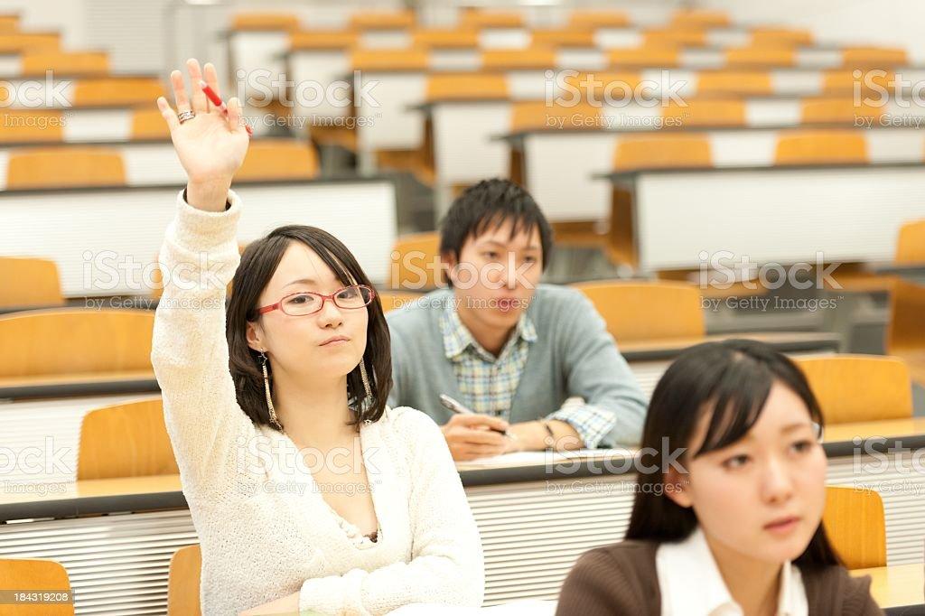 japanese student royalty-free stock photo