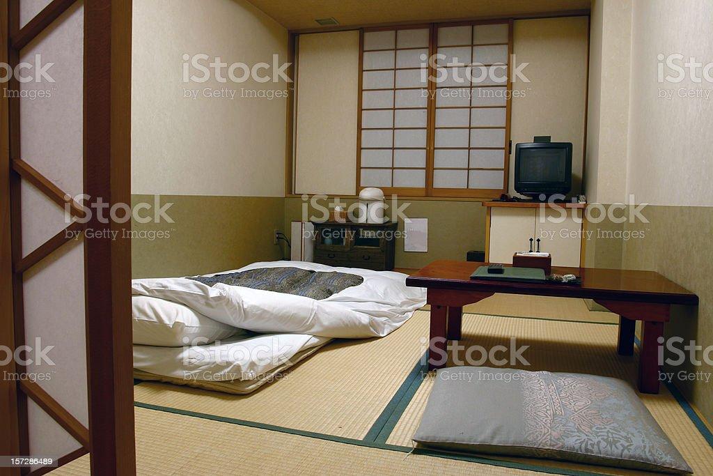 Japanese style apartment stock photo
