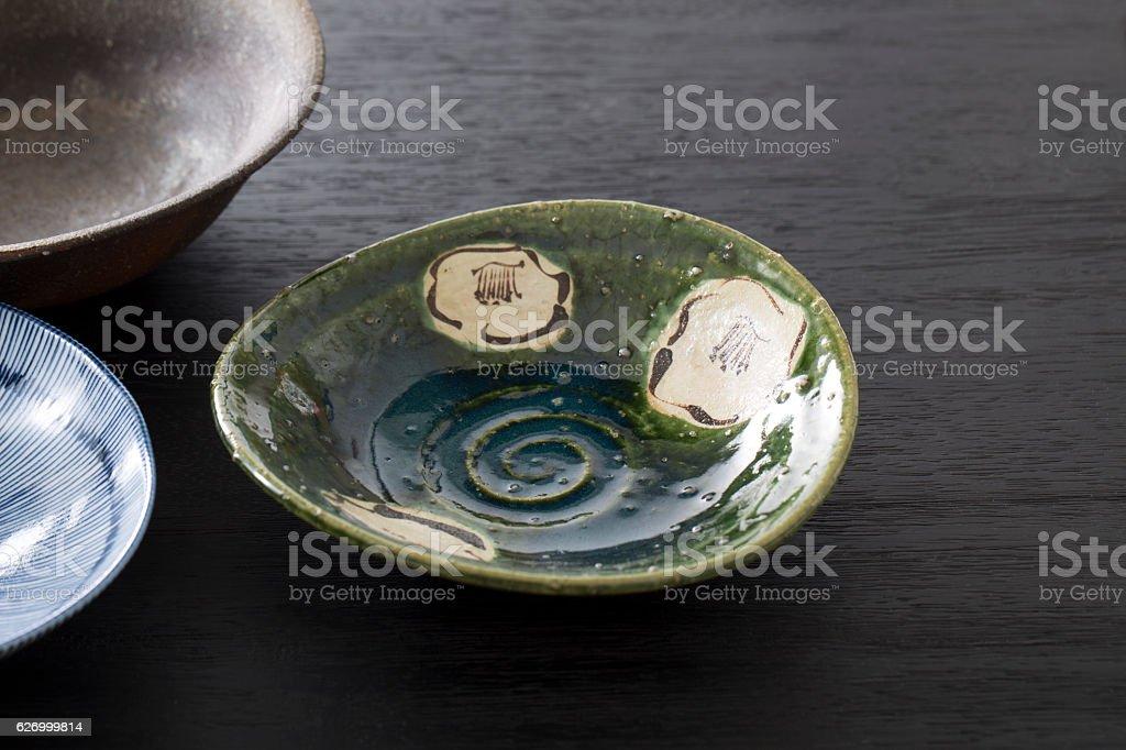Japanese style dish stock photo