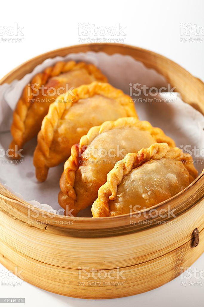 Japanese Style Dumpling stock photo