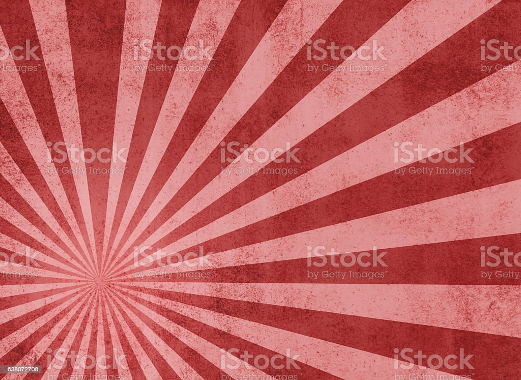 Japanese Sun Background vector art illustration