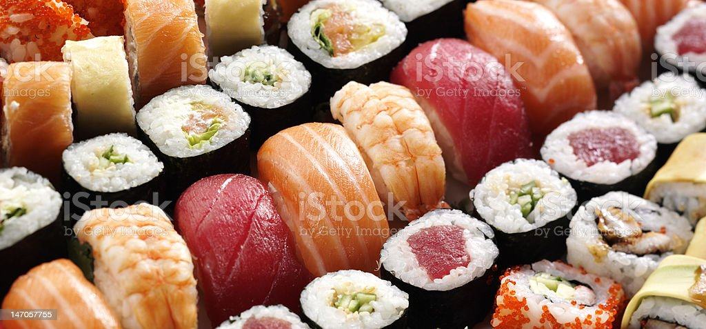 japanese sushi royalty-free stock photo