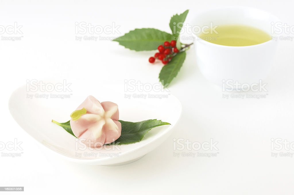 Japanese sweet royalty-free stock photo