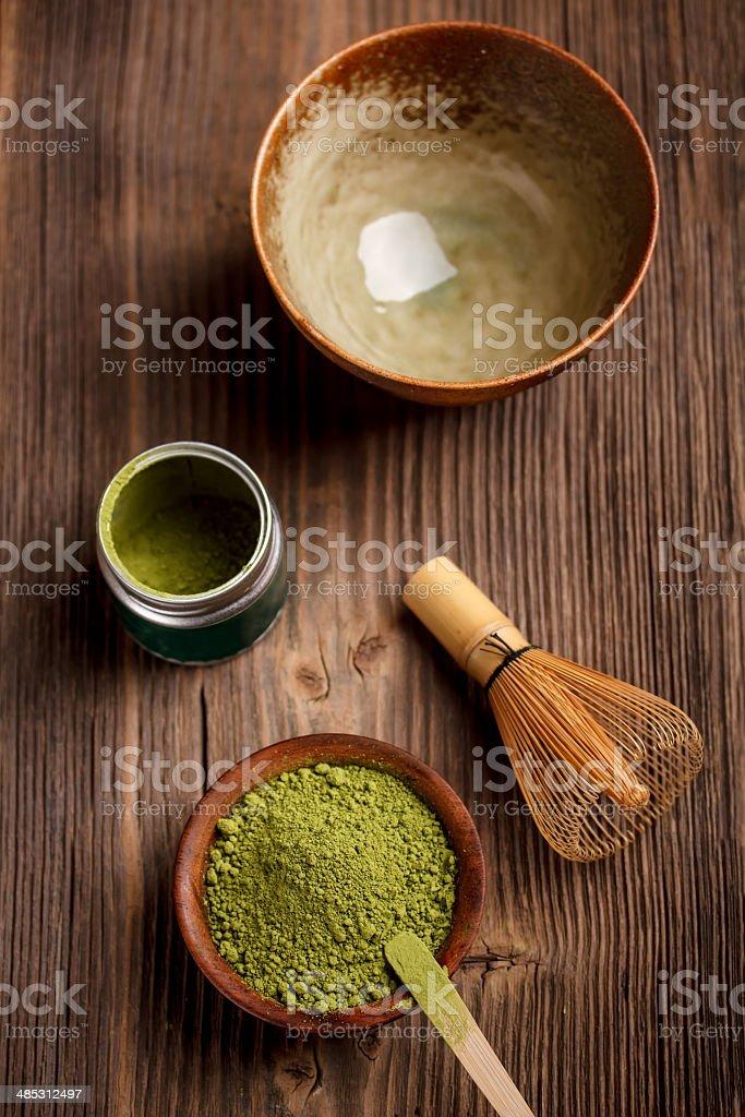 Japanese tea ceremony image stock photo