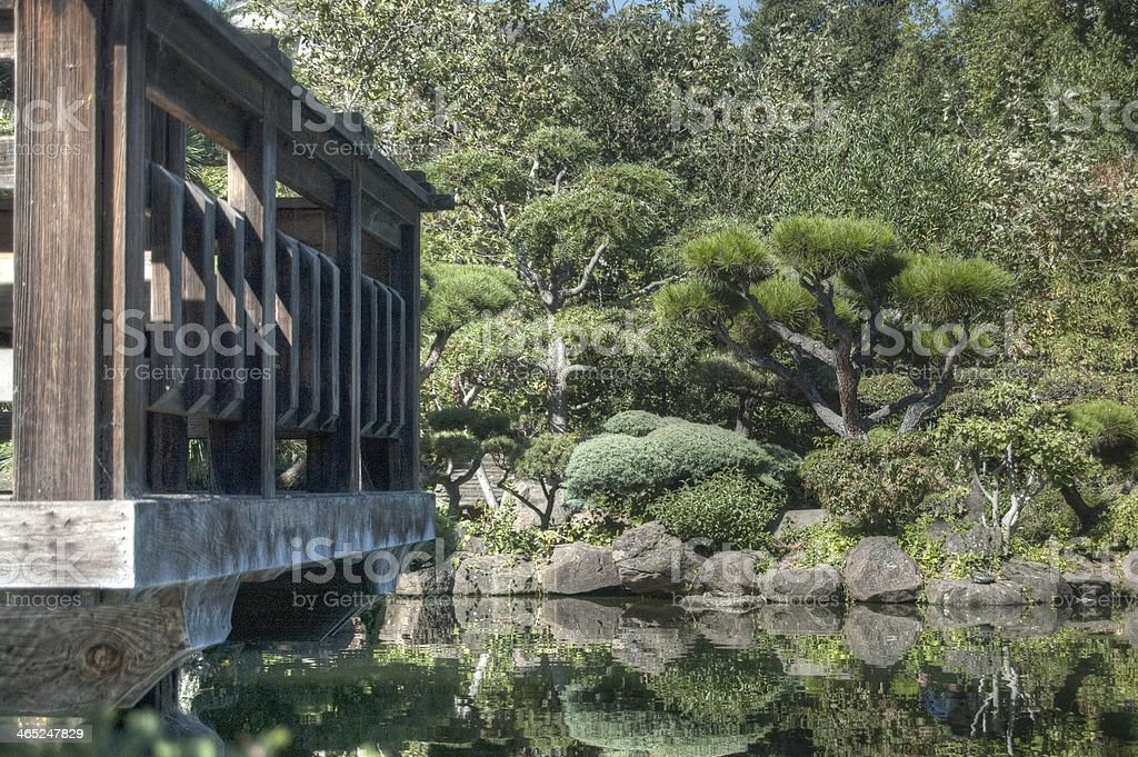 Japanese Tea Garden stock photo