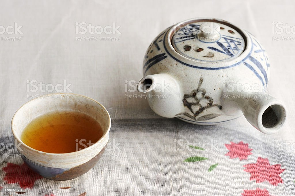 Japanese Tea royalty-free stock photo