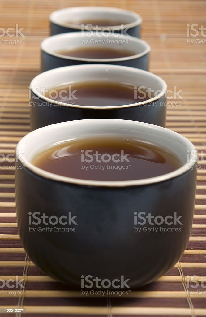 Japanese teapots royalty-free stock photo