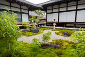 Japanese temple grounds