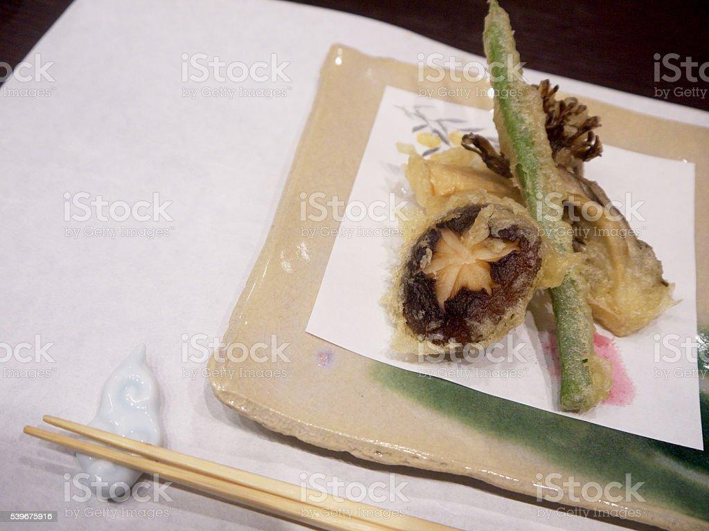 Japanese tempura stock photo