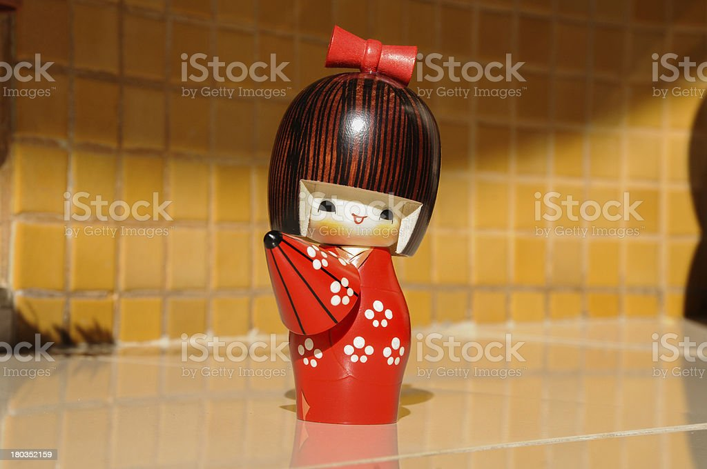 japanese toy stock photo