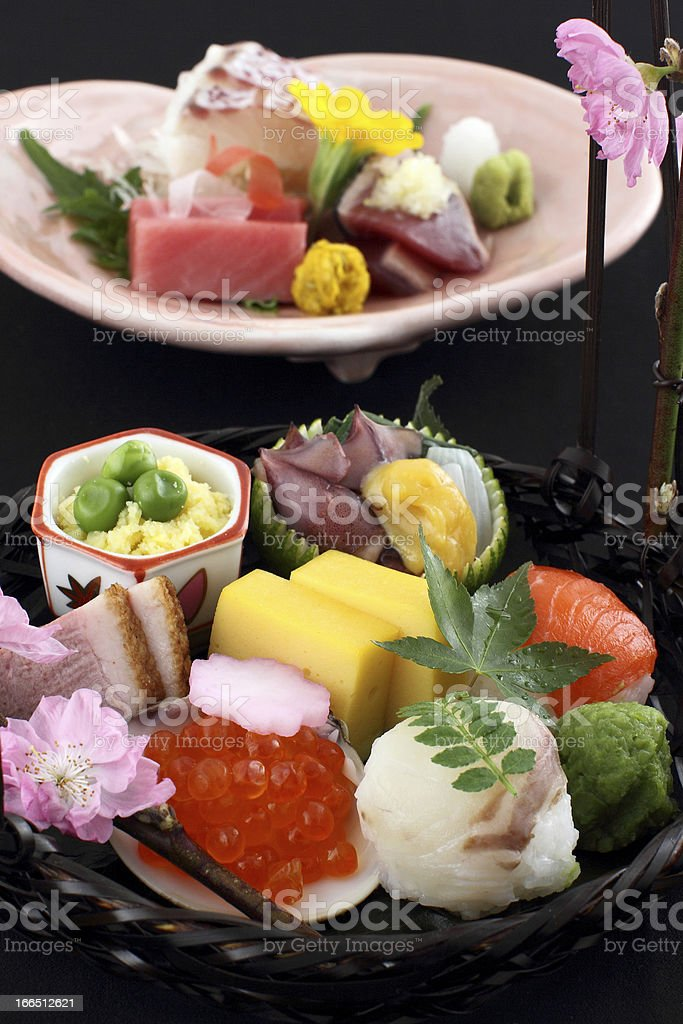 japanese traditional food royalty-free stock photo