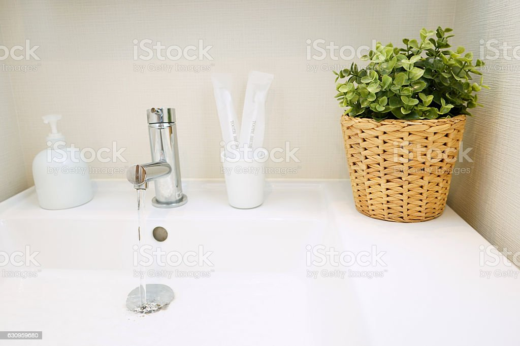 Japanese traditional housing room for backpacker's staying stock photo