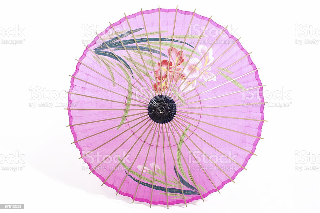 Japanese umbrella royalty-free stock photo