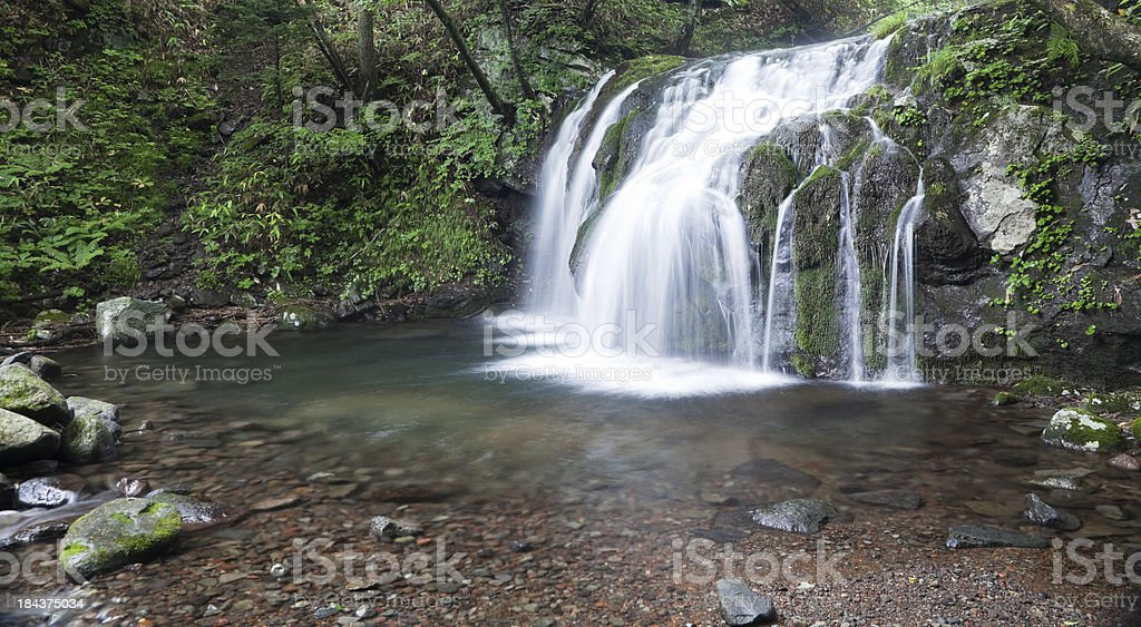 Japanese Waterfalls royalty-free stock photo
