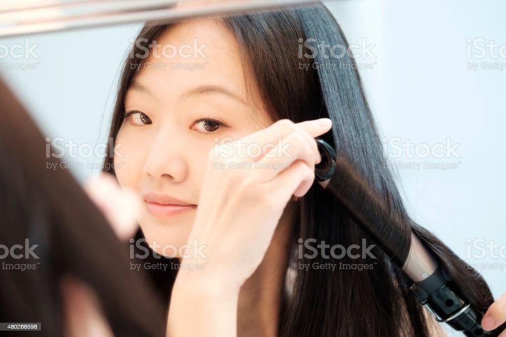 Japanese Woman Beauty stock photo