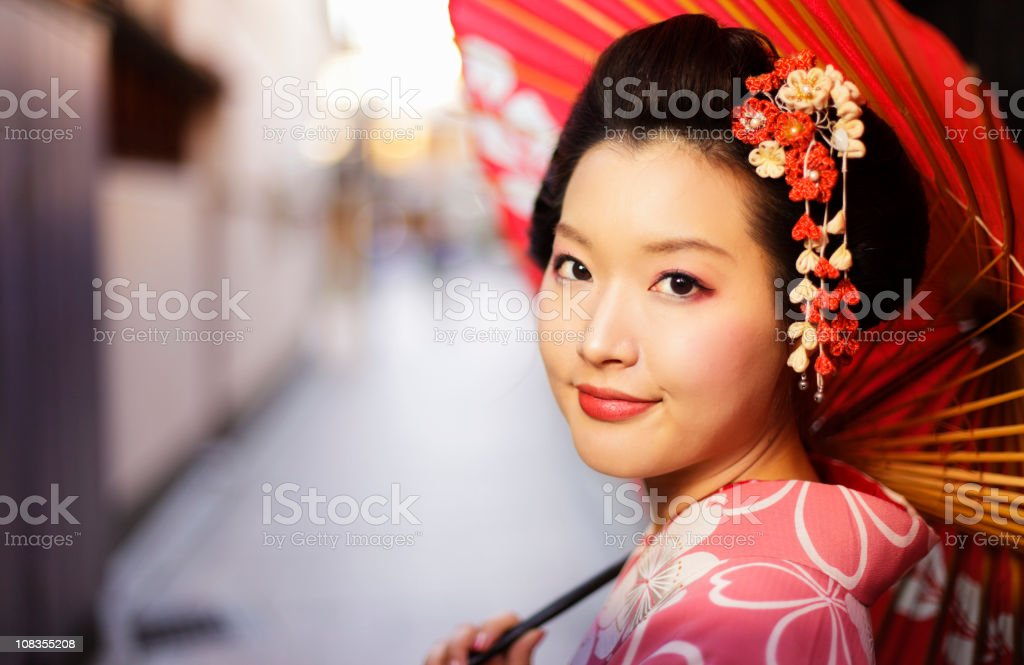 Japanese Woman royalty-free stock photo