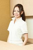 Japanese women at reception