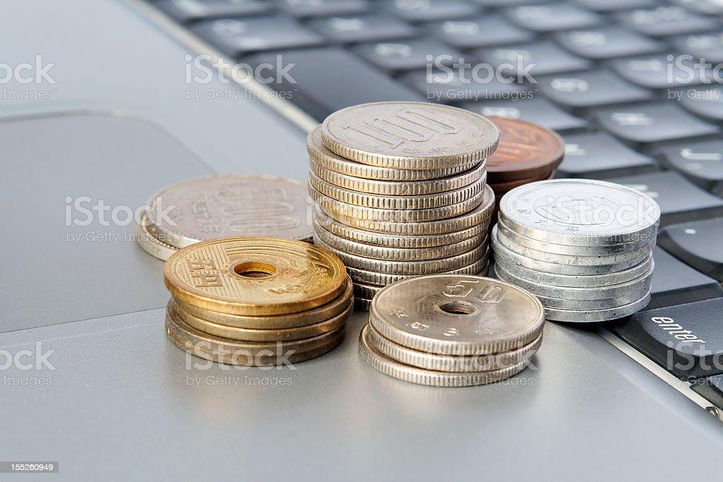 Japanese Yen royalty-free stock photo