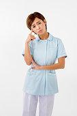 Japanese young nurse