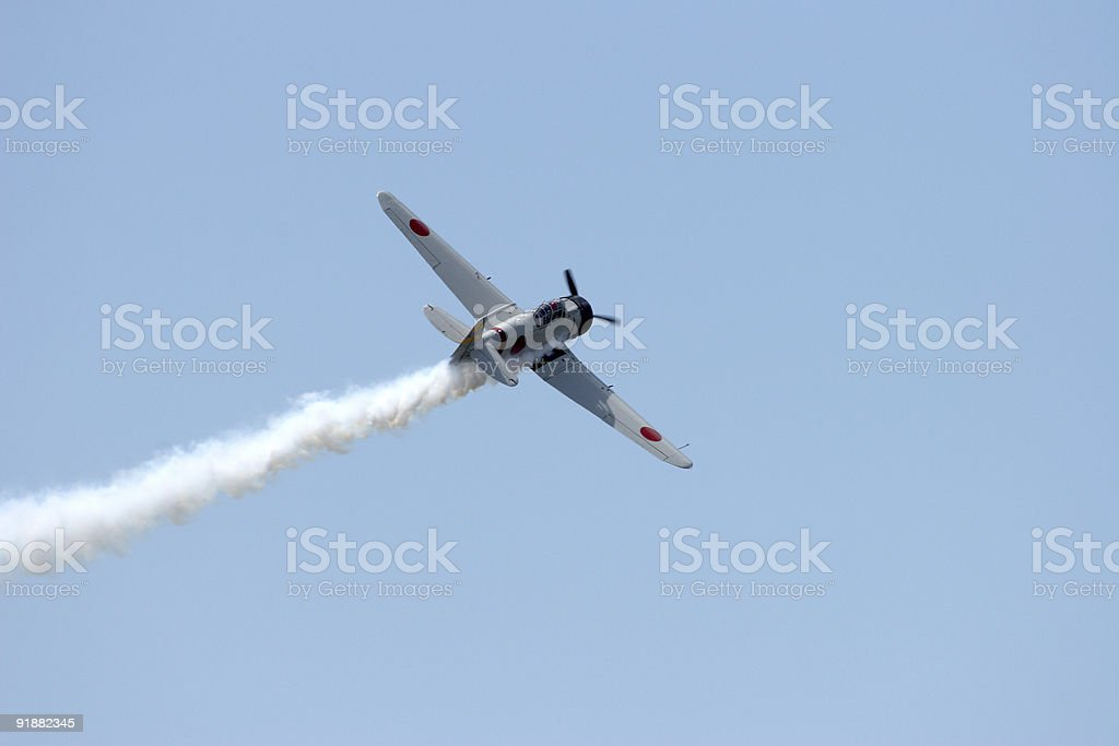 Japanese Zero 101 royalty-free stock photo