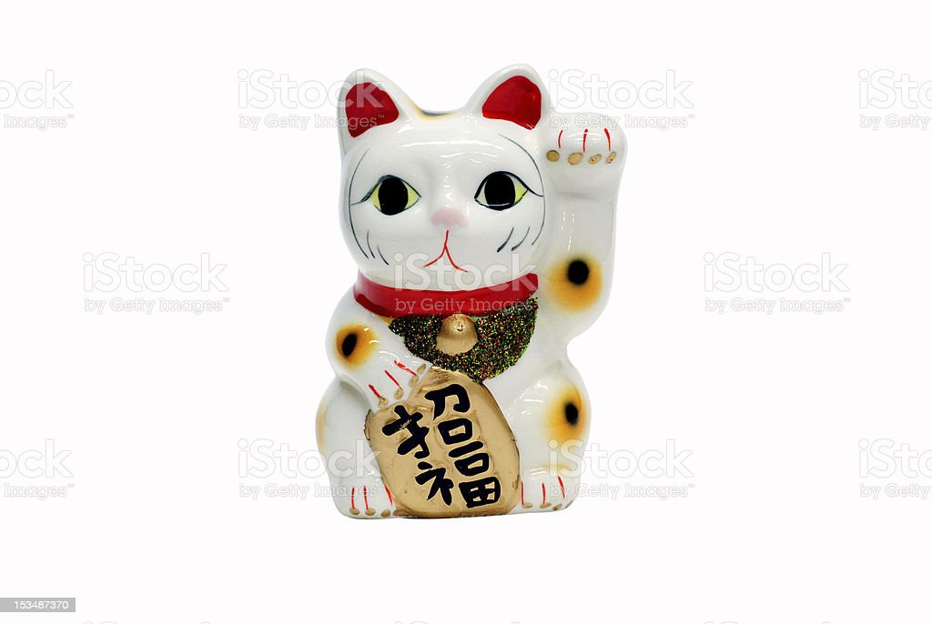 Japan's Beckoning Cat stock photo