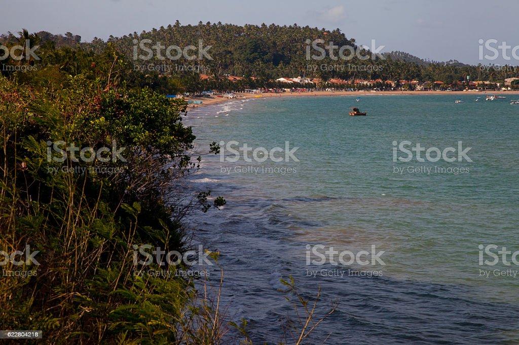 Japaratinga, Alagoas, Brazil stock photo