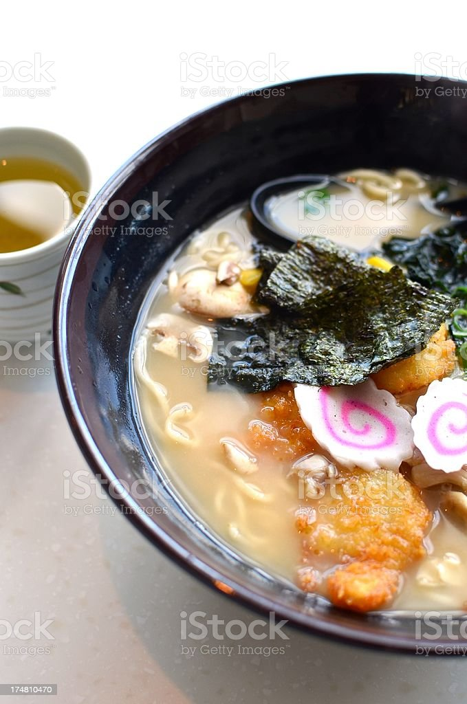 Japnese ramen royalty-free stock photo