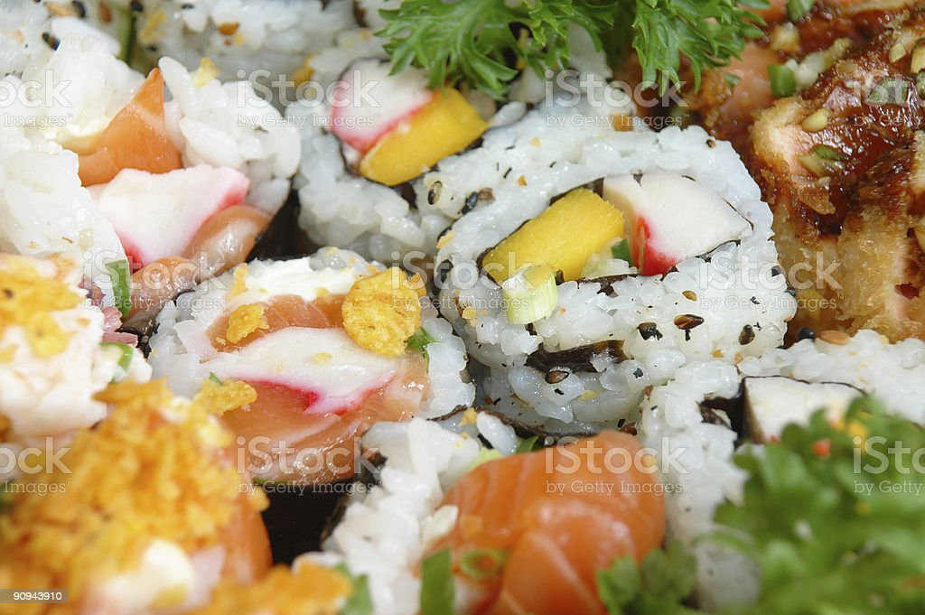 Japonese food royalty-free stock photo