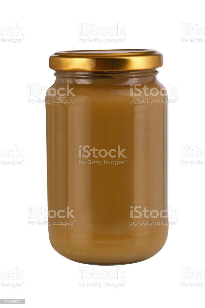 Jar isolated on white stock photo