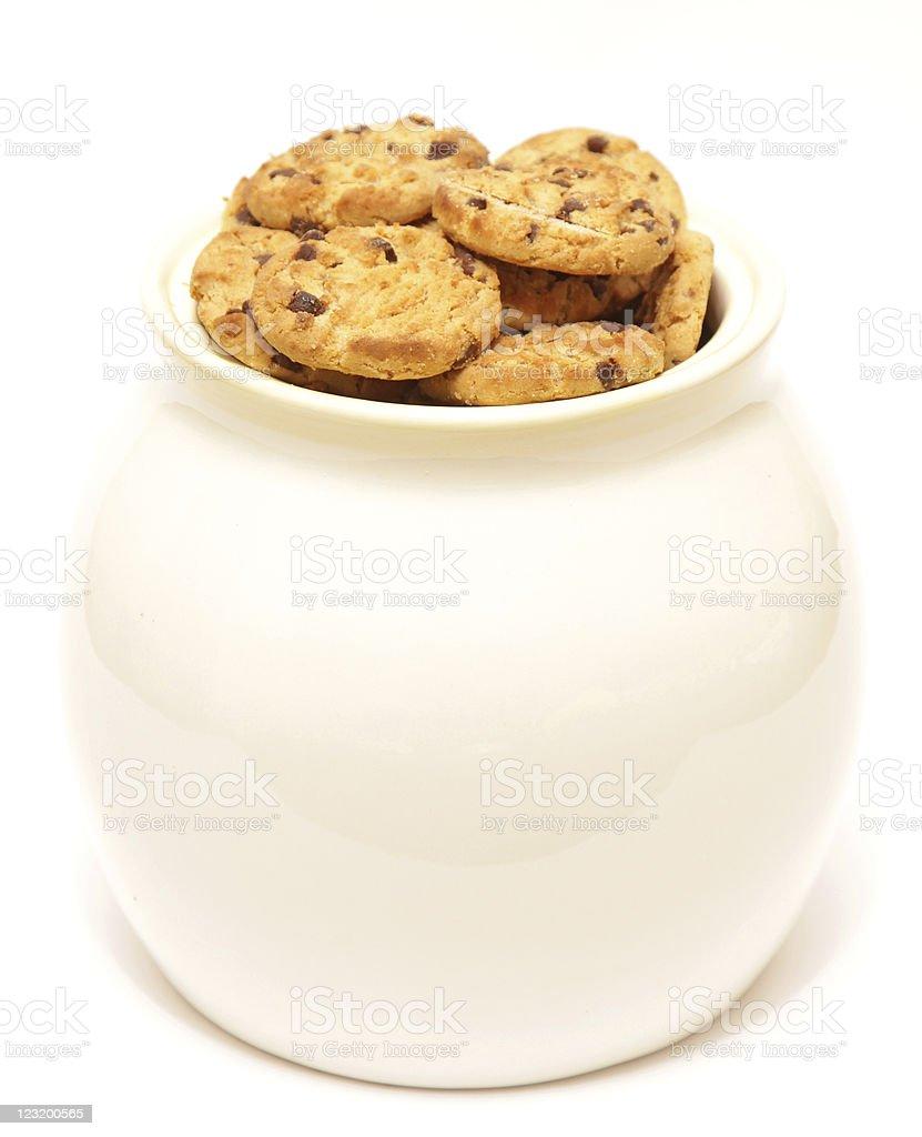 jar of cookies royalty-free stock photo
