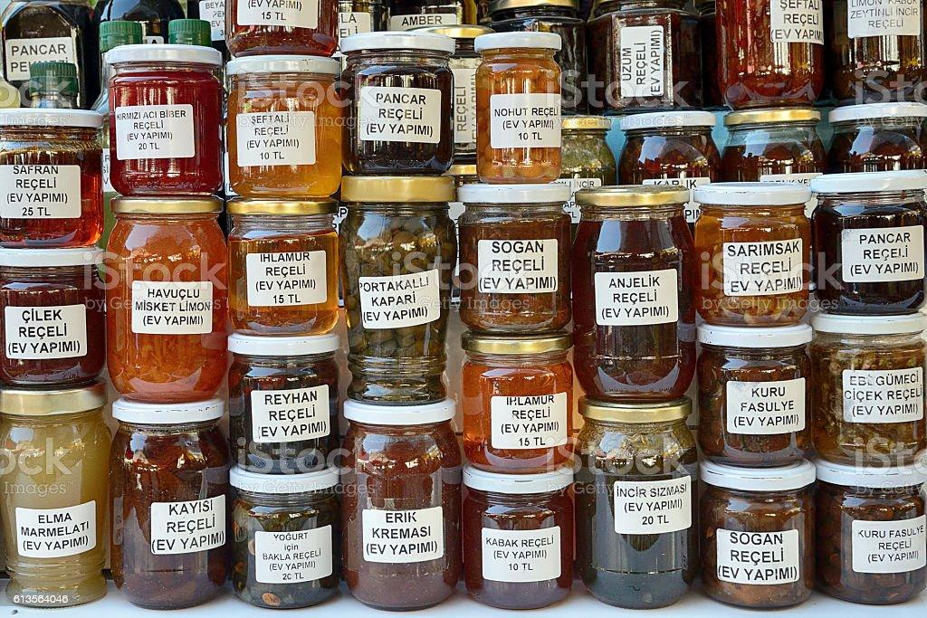 Jar variations stock photo