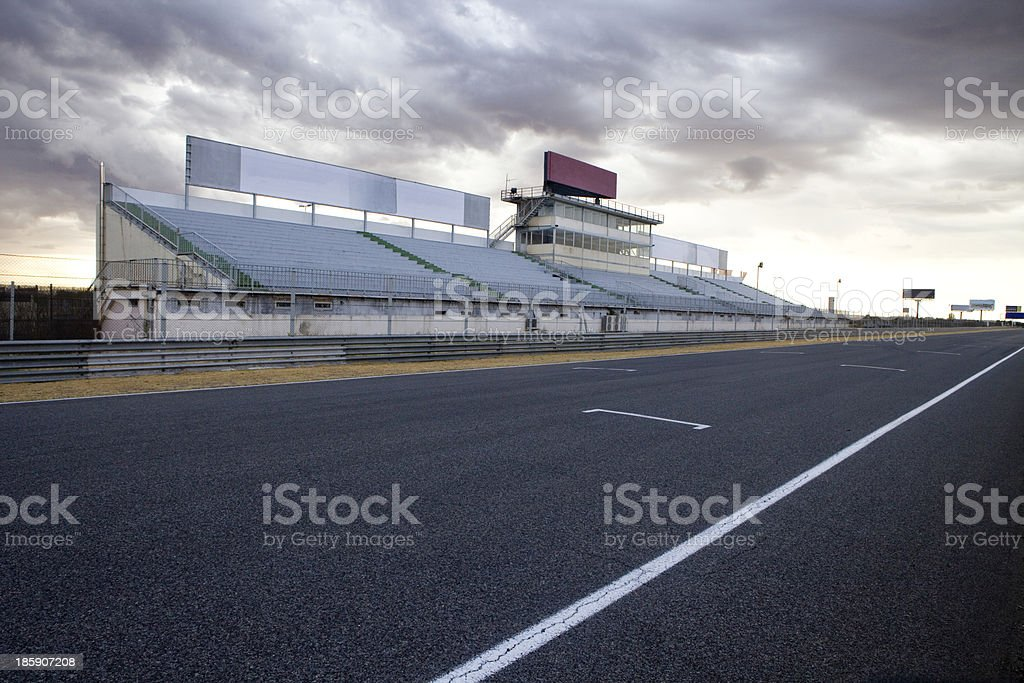 Jarama Racetrack. stock photo
