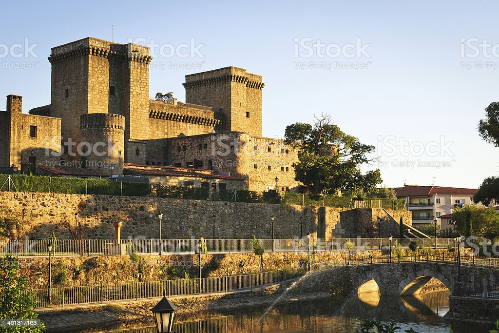 Jarandilla de la Vera, Extremadura, Spain stock photo