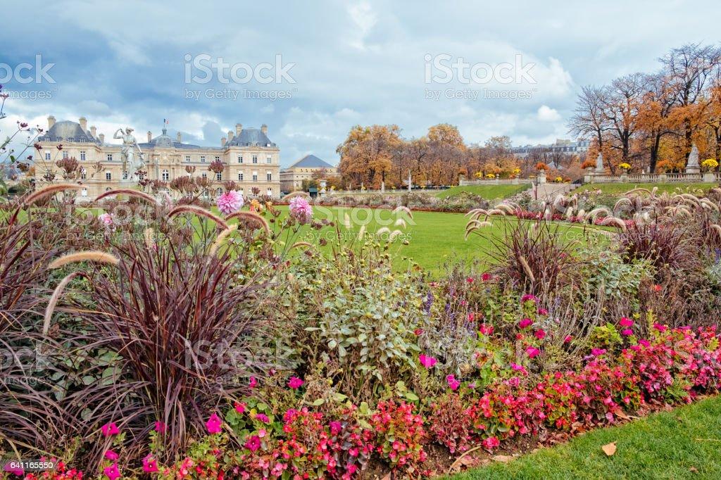 Jardin du Luxembourg, Paris stock photo