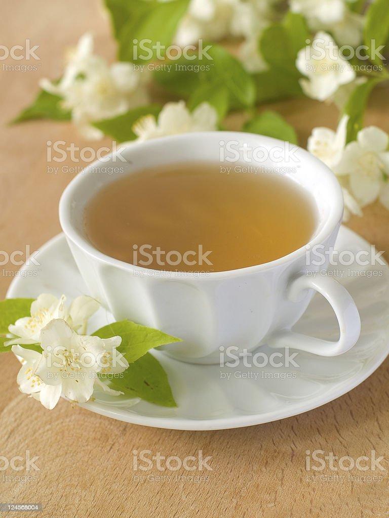 Jasmin tea royalty-free stock photo