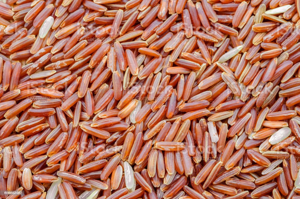 Jasmine Brown Rice stock photo
