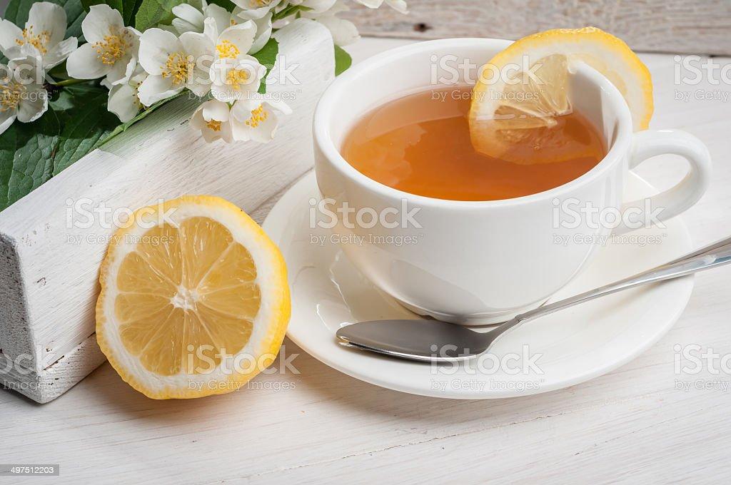 Jasmine Green Tea royalty-free stock photo