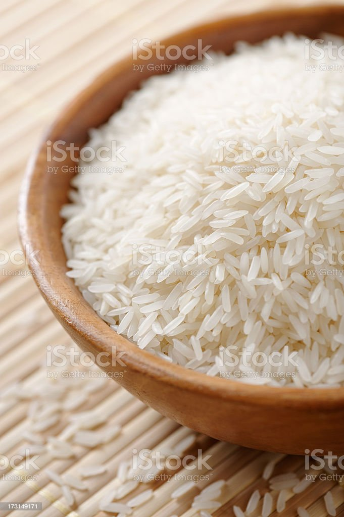 Jasmine rice royalty-free stock photo