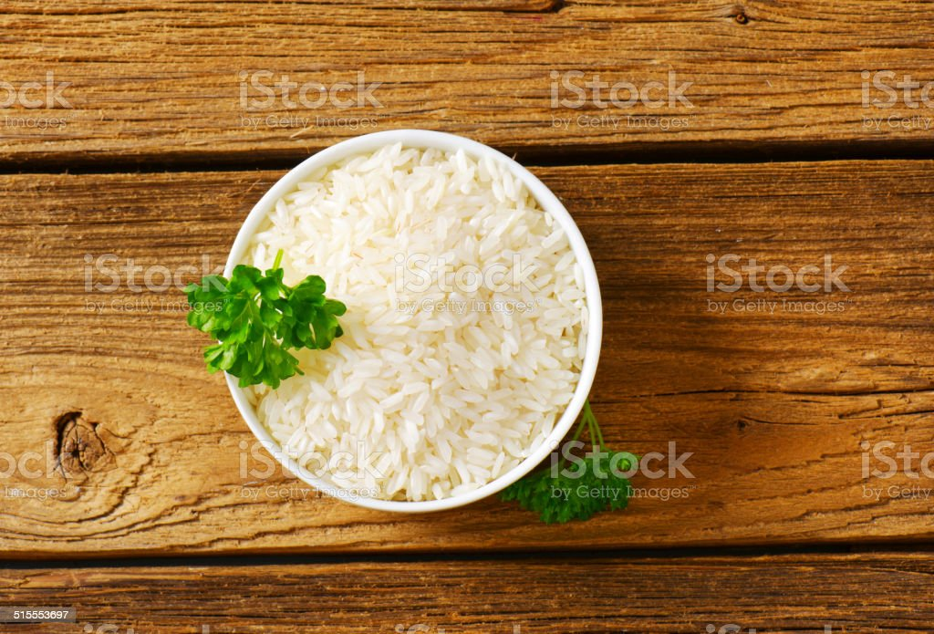 Jasmine rice stock photo