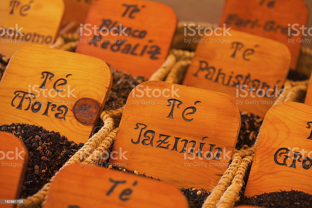 jasmine tea and others royalty-free stock photo